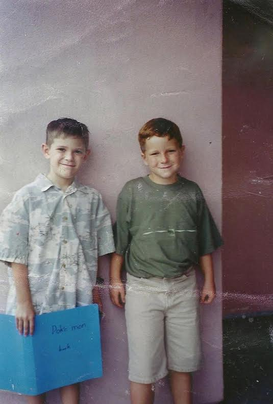 YIELD Mastermind cofounders Philip and JT circa 1996.